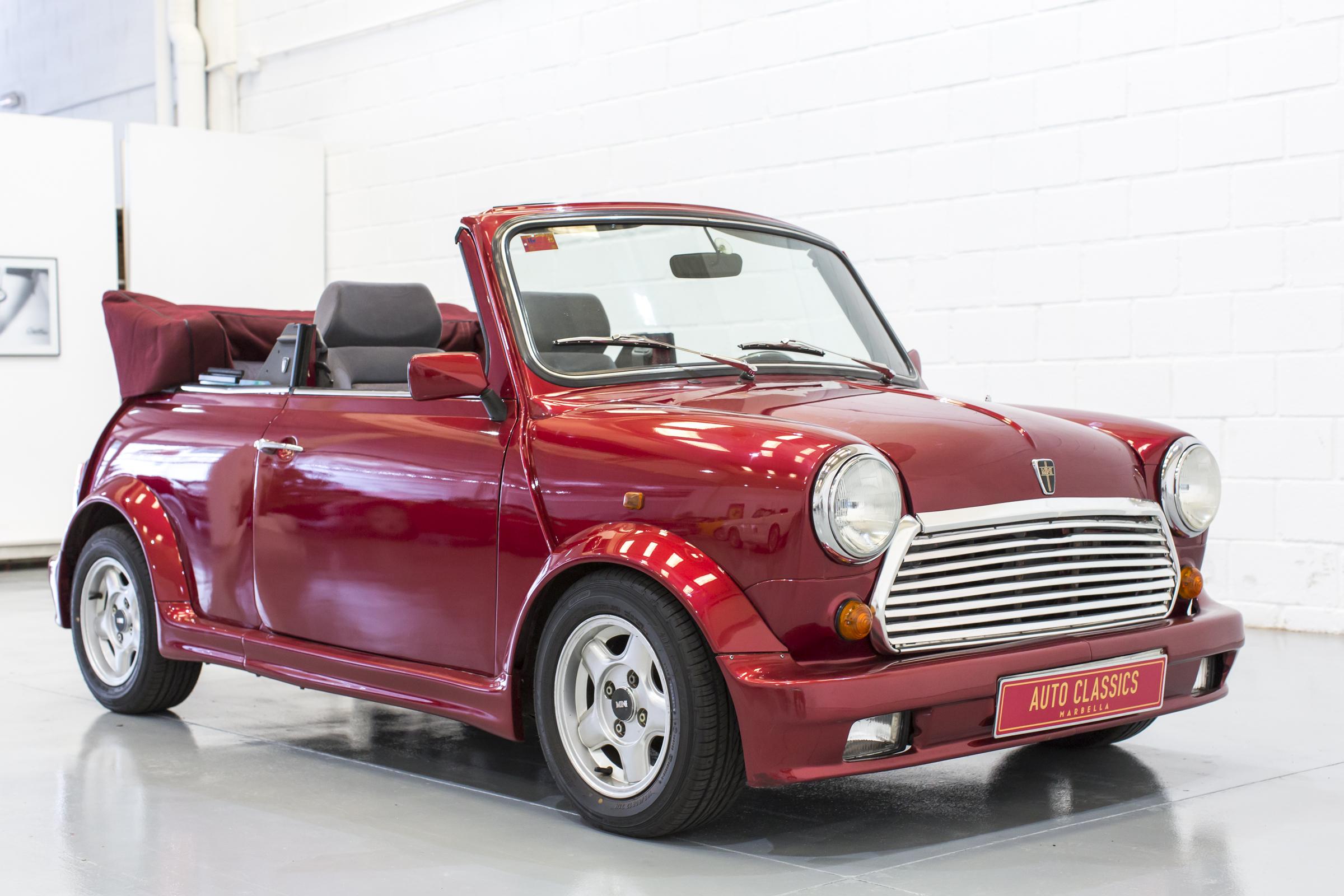 austin rover mini cabriolet uz edition auto classics marbella. Black Bedroom Furniture Sets. Home Design Ideas